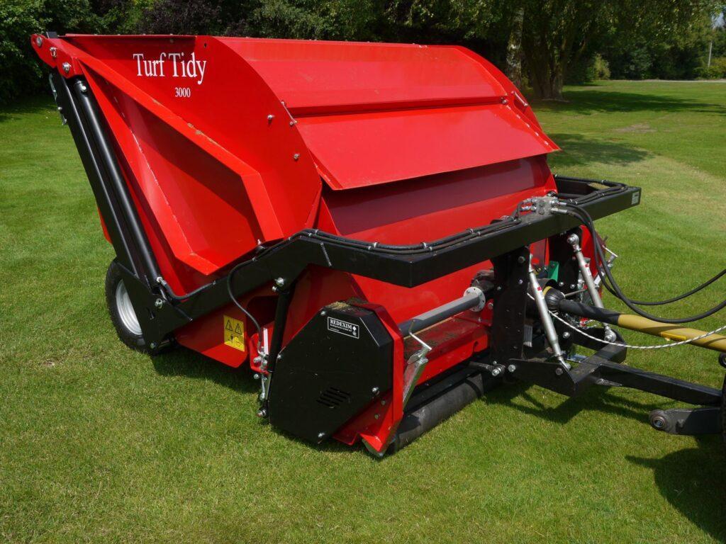 Turf-Tidy 3000 as Scarifier