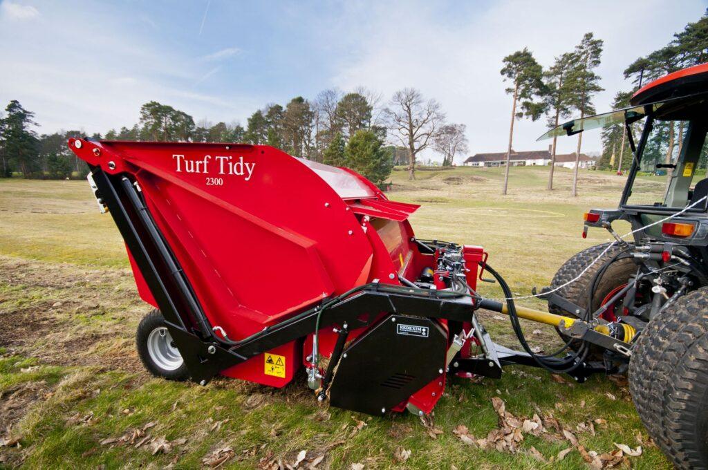 Turf-Tidy 2300 as Scarifier